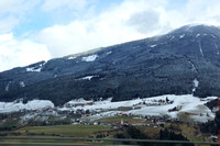 Road trip to Italy, Brenner Pass. We heard there was snowfall last night